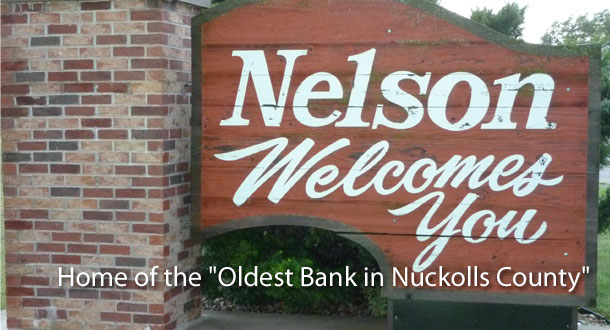 Home of The Oldest Bank in Nuckolls